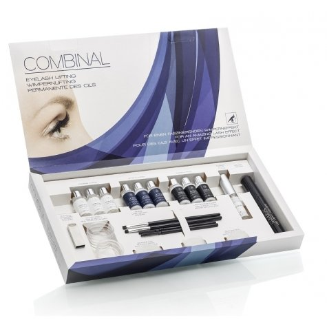 Permanent gene cu silicon Combinal Eyelash Lifting